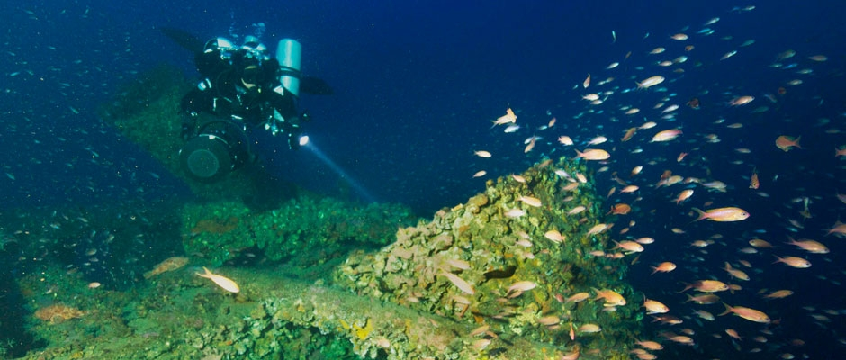 Wreck of the SS Bengasi
