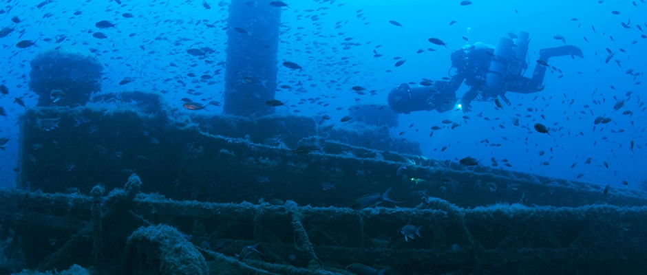 The wreck of the Salpi